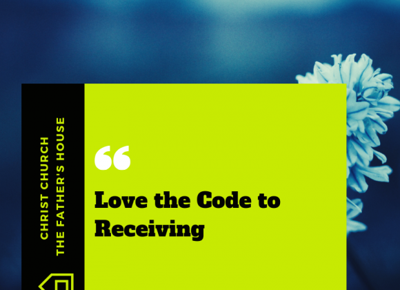 Love The Code to Receiving